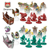 Heroes of Land Air & Sea Družabna igra Board Game Miniatures
