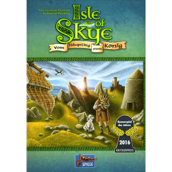 Isle of Skye From Chieftain to King Družabna igra Board Game Cover