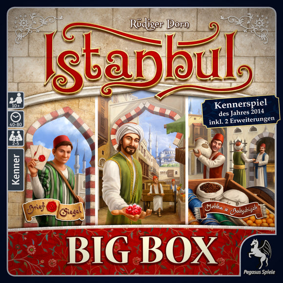 Istanbul Big Box Cover