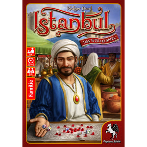 Istanbul The Dice Game Cover