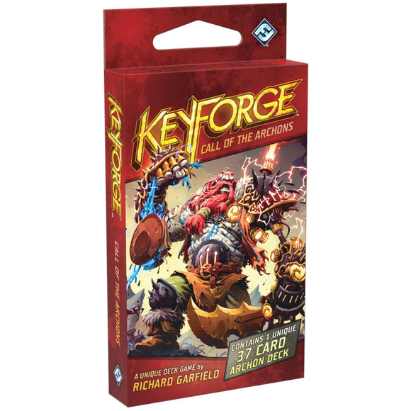 Družabna igra KeyForge: Call of the Archons - Archon Deck Board Game Cover Pravi Junak