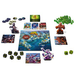 Družabna igra King of Tokyo Edition 2016 Board Game Components Pravi Junak