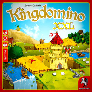 Kingdomino XXL Cover Družabna igra Board Game Pravi Junak