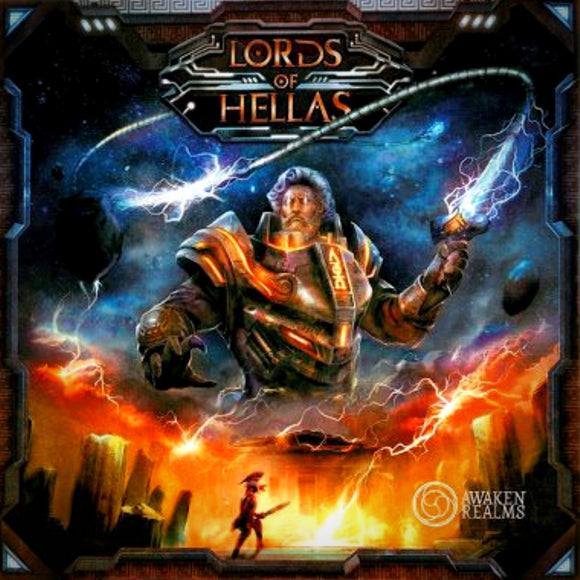 Družabna igra Lords of Hellas Board Game Cover Pravi Junak