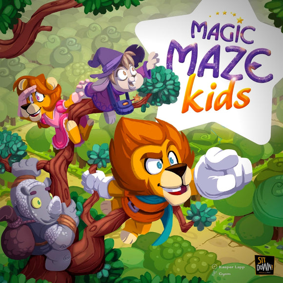Magic Maze Kids Cover Družabna igra Board Game Pravi Junak