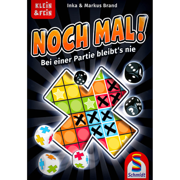 Noch Mal! Družabna igra Board Game Cover