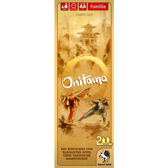 Onitama Družabna igra Board Game Cover