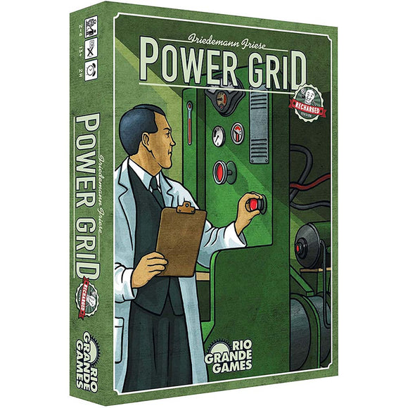 družabna igra power grid recharged slovenska pravila škatla naslovnica box cover board game