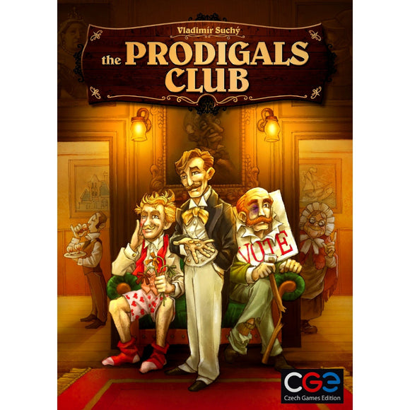 The Prodigals Club Cover Družabna igra Boards Game Pravi Junak