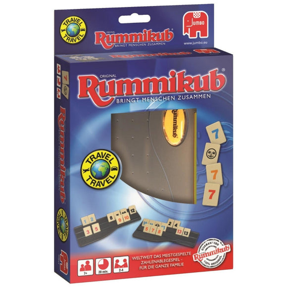 Družabna igra Rummikub Travel Cover Board Game Pravi Junak