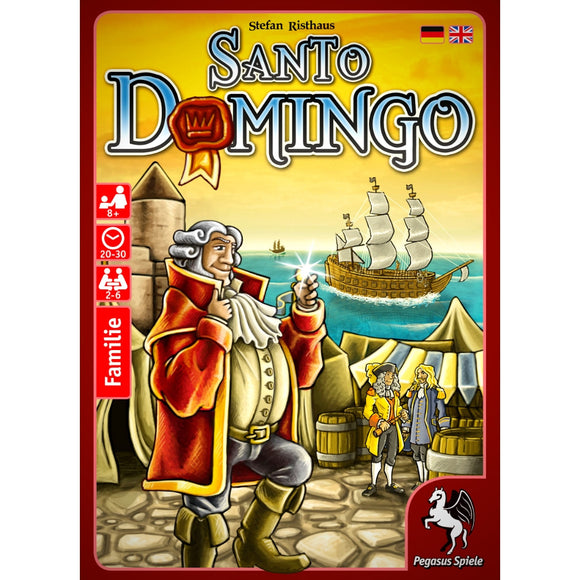 Družabna igra Santo Domingo Board Game Cover Pravi Junak