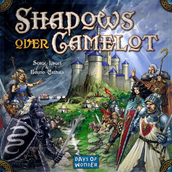Družabna igra Shadows over Camelot Board Game Cover Pravi Junak
