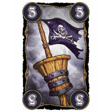 Družabna igra Skull King Board Game Pirate Card Pravi Junak