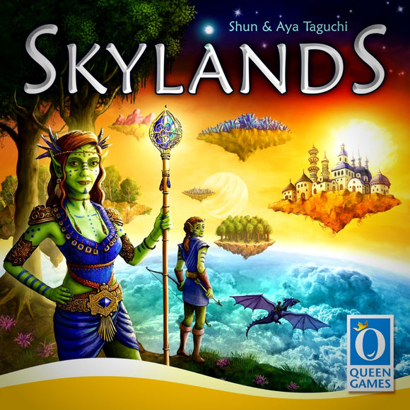 Družabna igra Skylands Board Game Cover Pravi Junak