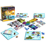 Družabna igra Skylands Board Game Gameplay Setup Pravi Junak