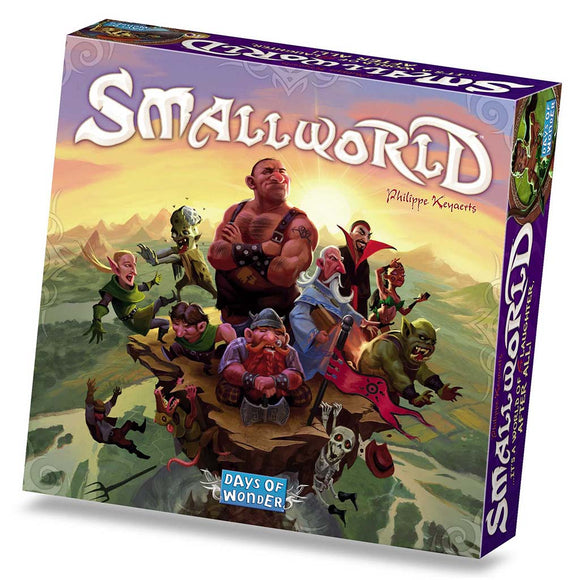 družabna igra small world škatla naslovnica box cover board game
