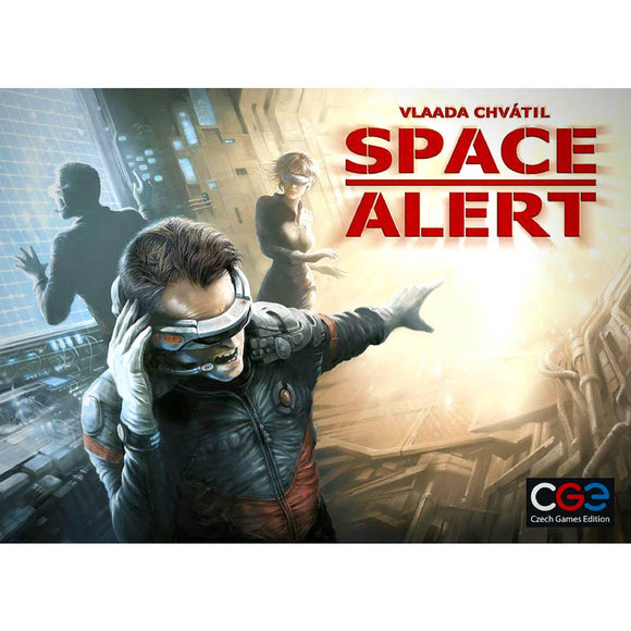 Družabna igra Space Alert Board Game Cover Pravi Junak