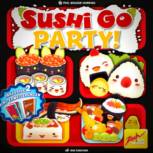 Sushi Go Party! Družabna igra Board Game Cover