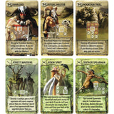 Tash Kalar Arena of Legends Cards Družabna igra Board Game Pravi Junak