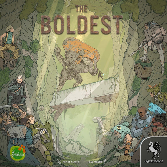 The Boldest Cover Družabna igra Board Game Pravi Junak
