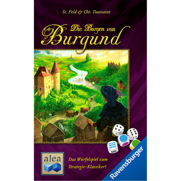The Castles of Burgundy The Dice Game Družabna Igra Board Game Cover
