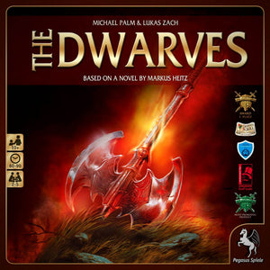The Dwarves Družabna igra Board Game Cover