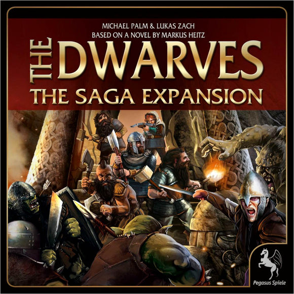 The Dwarves The Saga Expansion Družabna igra Board Game Cover
