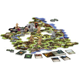 družabna igra lord of the rings components boardgame pravi junak