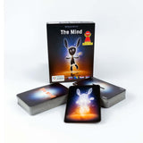 Karte The Mind Components Pravi Junak Družabna igra Board Card Game