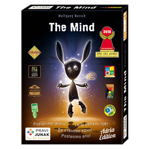 družabna igra s kartami the mind pravi junak board dice game
