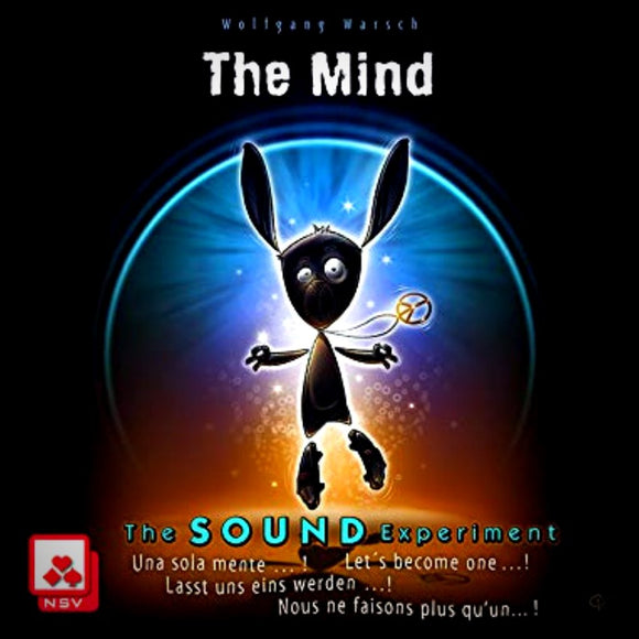 Družabna igra The Mind Sound Experiment Card Game Cover