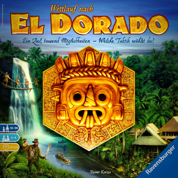 The Quest for El Dorado Cover