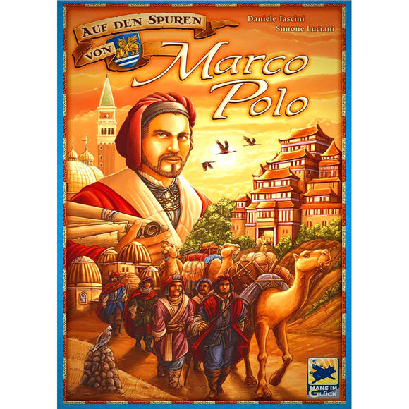 The Voyages of Marco Polo Družabna igra Board Game Cover