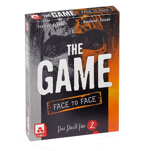 družabna igra s kartami the game face to face škatla naslovnica cover card game