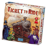 družabna igra ticket to ride škatla naslovnica box cover board game