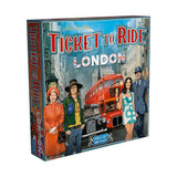 družabna igra ticket to ride london škatla naslovnica cover box board game