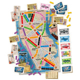Družabna igra Ticket to Ride: New York Board Game Components Pravi Junak