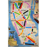 Družabna igra Ticket to Ride: New York Board Game Map Pravi Junak