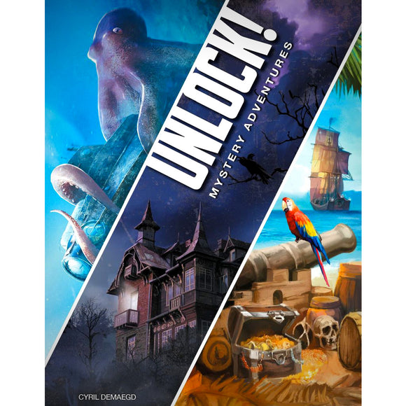 Unlock! 2 Mystery Adventures Cover