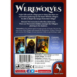 Družabna igra Werewolves Board Game Box Back Pravi Junak