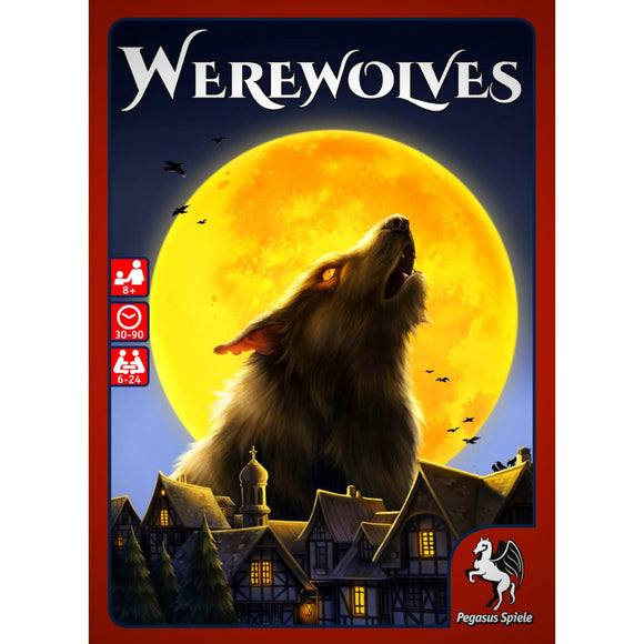 Družabna igra Werewolves Board Game Cover Pravi Junak