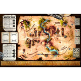 Družabna igra Western Legends Board Game Components Pravi Junak
