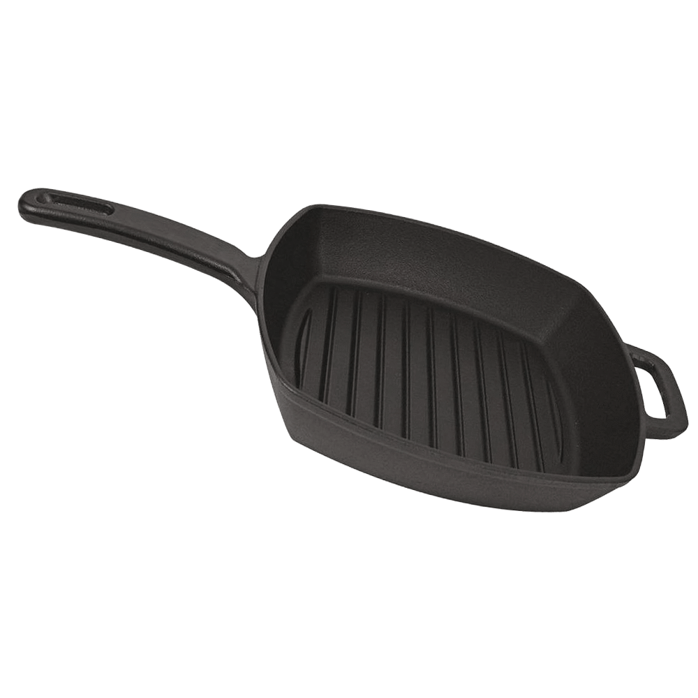 square cast iron skillet