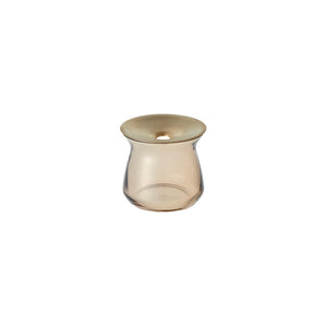 20332 LUNA vase 80x70mm brown
