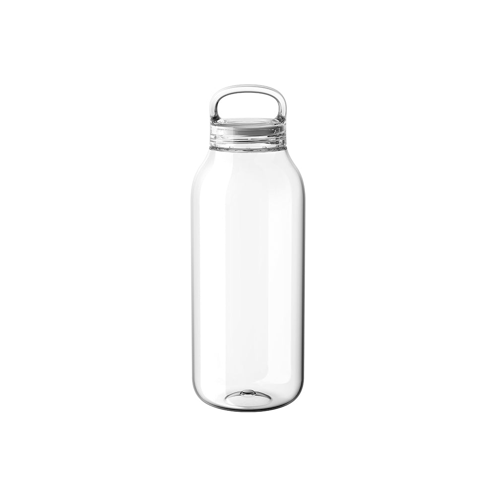 20391 - water bottle 500 ml. Clear