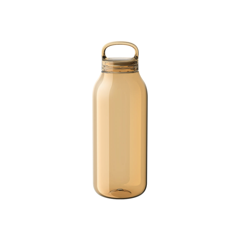 20392 - water bottle 500 ml. amber