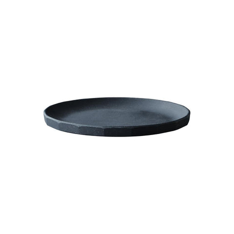 20713 - ALFRESCO plate 190mm Black