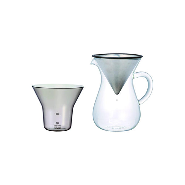 27620 - SCS Coffee carafe set 300ml stainless
