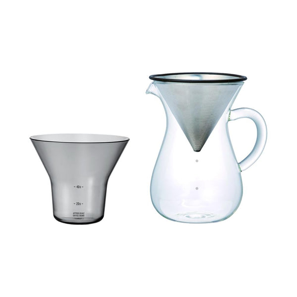 27621 - SCS Coffee carafe set 600ml stainless