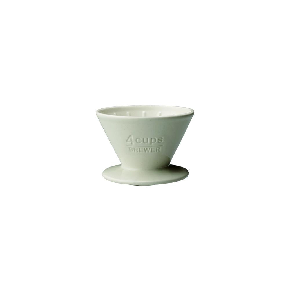 27631 - SCS Brewer 4 cups white